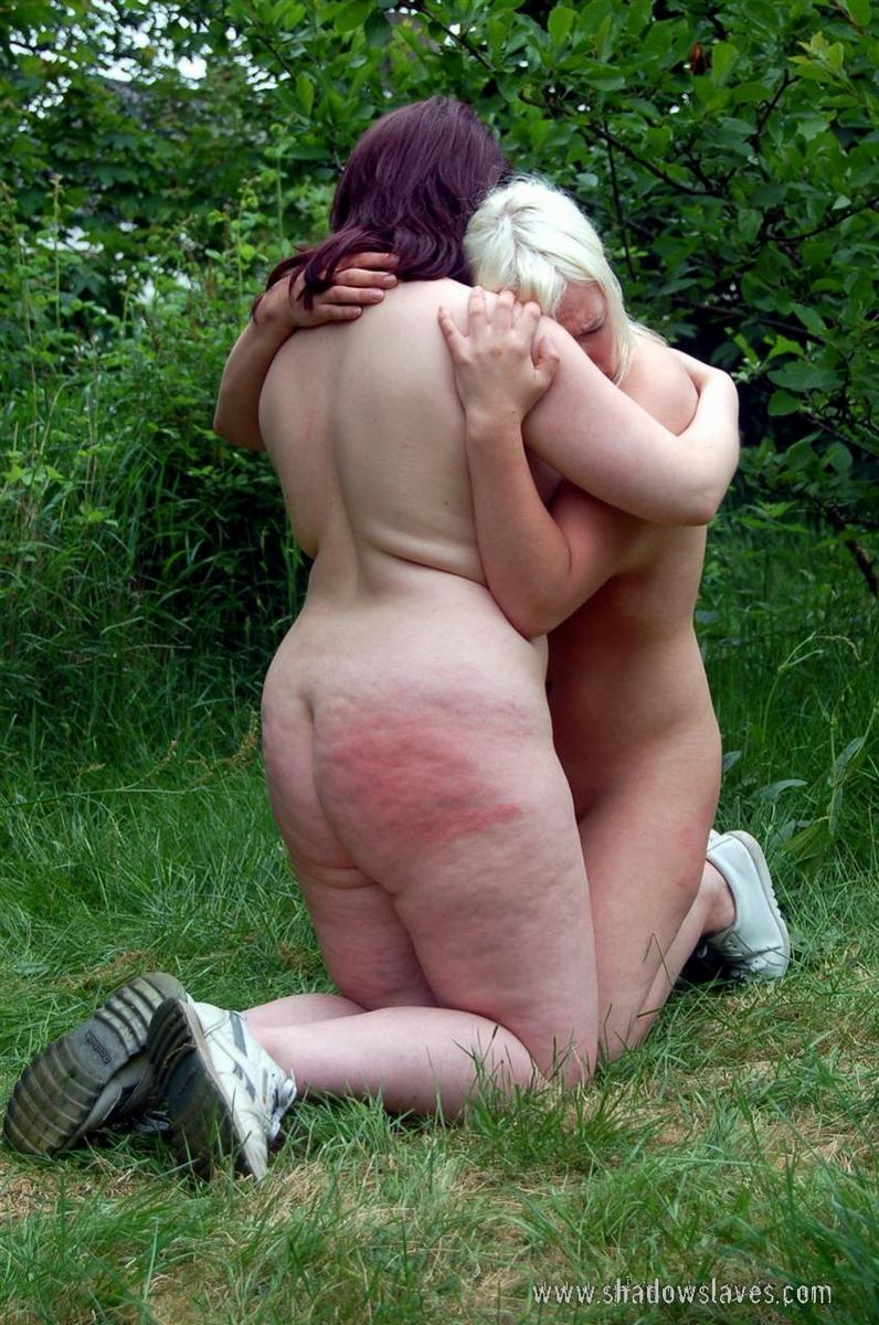 Spanking and Shame Outdoors