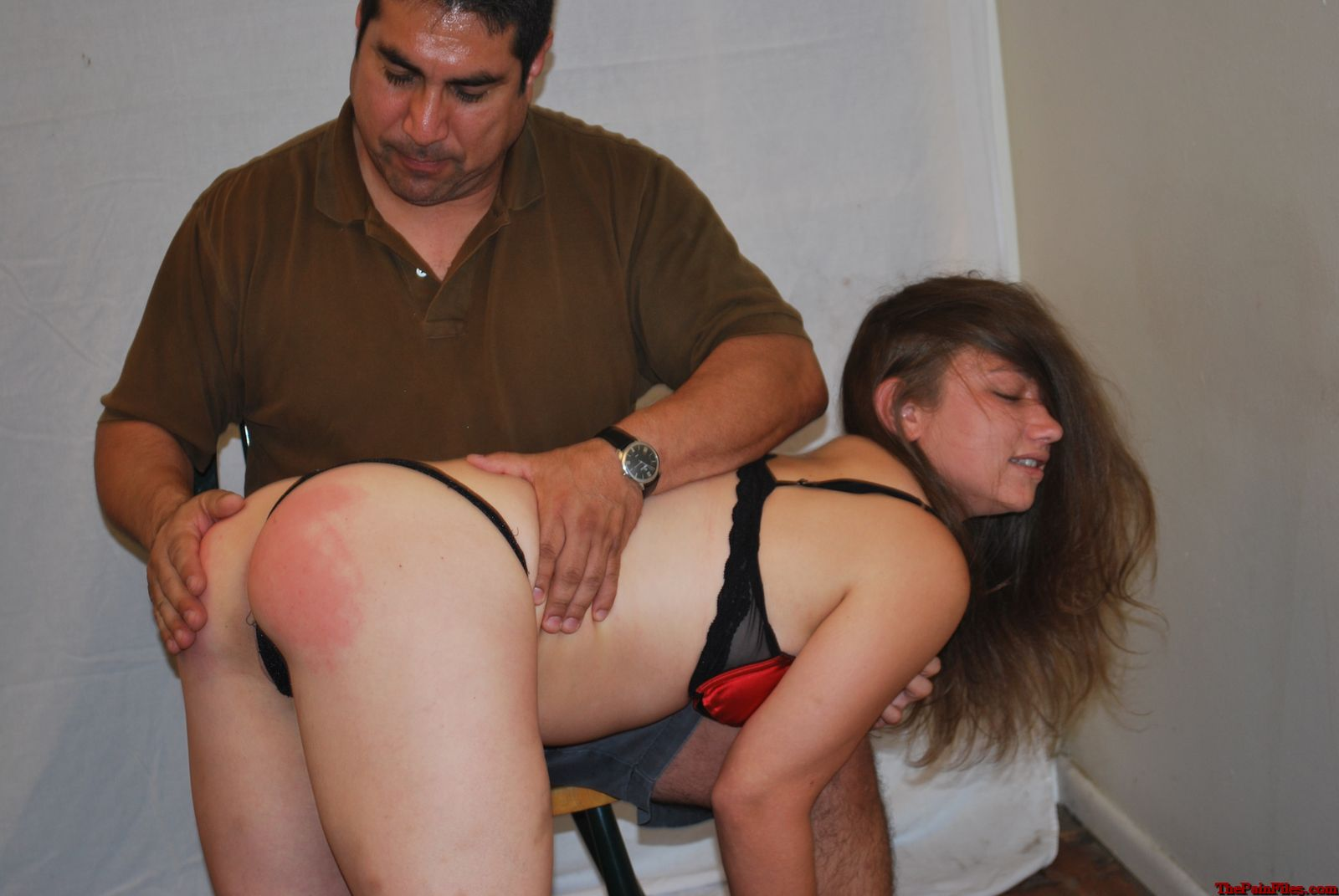 Caras First Spanking
