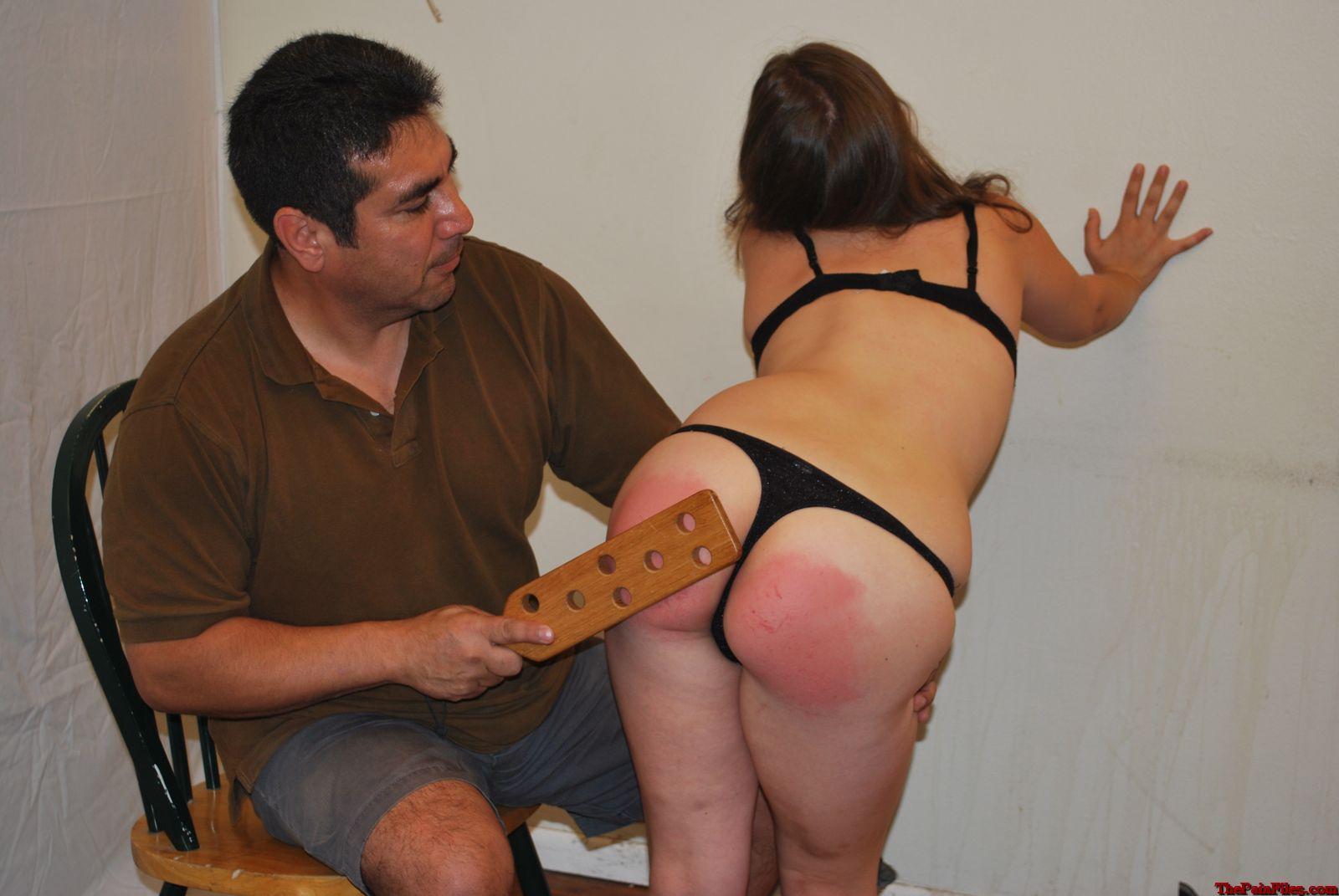XXX pics punished girls paddled bottoms