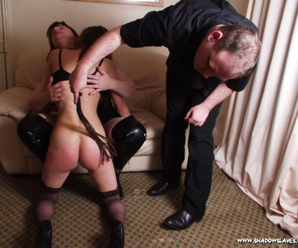 Spanked By A Couple